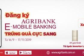 """""""Đăng ký Agribank E-Mobile Banking trúng quà cực sang"""""""