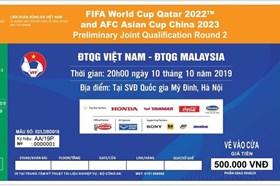 """Vé trận tuyển Việt Nam gặp Malaysia """"cháy"""" ngay sau 3 phút mở bán"""