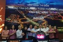 Bắc Ninh vận hành thử Trung tâm điều hành thành phố thông minh