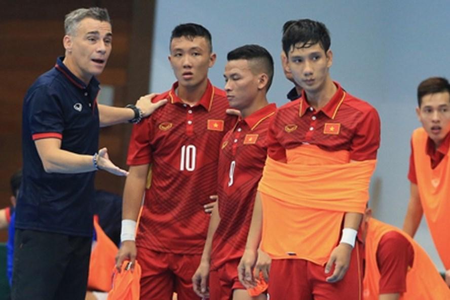 Tuyển futsal Việt Nam sẽ hội quân vào ngày mai, 29.9 để chuẩn bị cho giải futsal Đông Nam Á 2019. Ảnh: VFF
