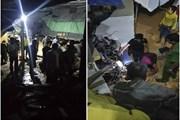 Xe đầu kéo mất phanh lao thẳng vào nhà dân khiến 2 vợ chồng thiệt mạng