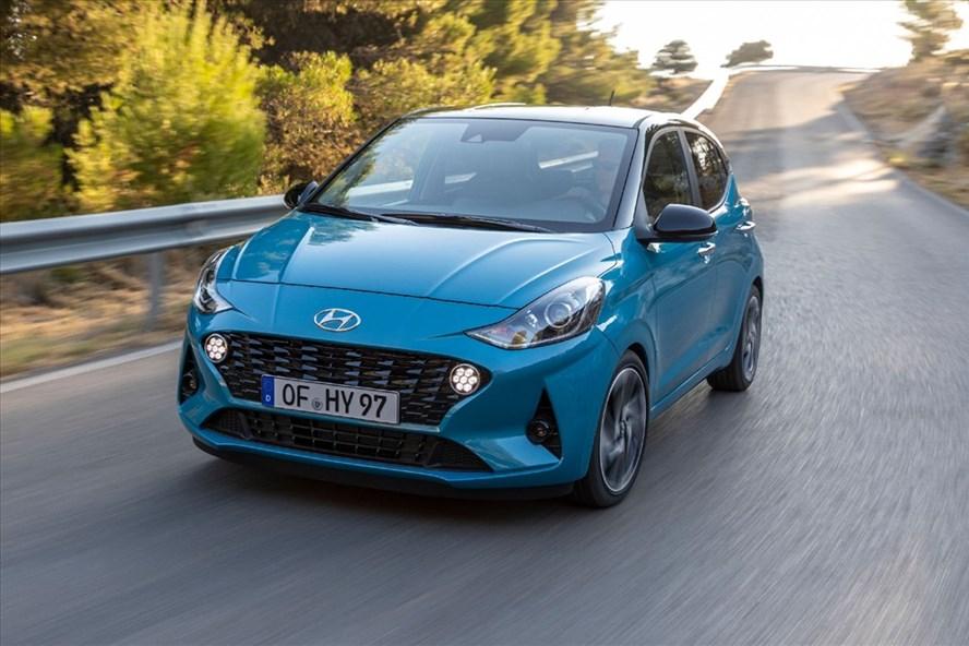 Hyundai i10 thế hệ thứ 3 chuẩn bị ra mắt tại Châu Âu. Ảnh Carscoops