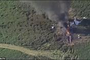 Video hiện trường tan hoang vụ rơi máy bay khiến ít nhất 16 người chết ở Mỹ